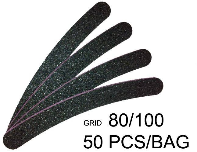 Bulk Nail Files - 50pc pack 80/100 grit - Hair and Beauty Supplier ...